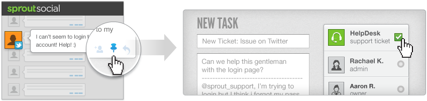 How to Create a New Helpdesk Ticket in Sprout Social