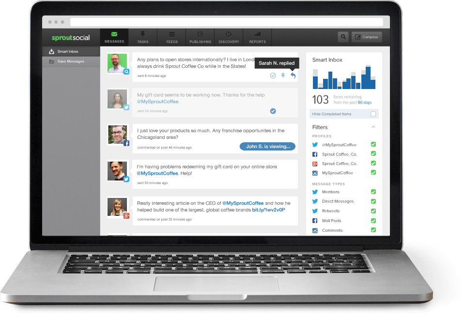 Sprout Social — Twitter Management Software